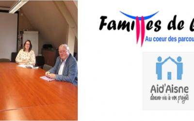 Le nouveau Président de Familles de l'Aisne
